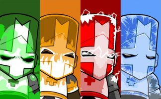 Castle Crashers в Steam?