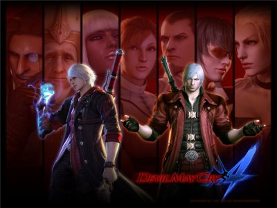 Обзор на игру Devil May Cry 4